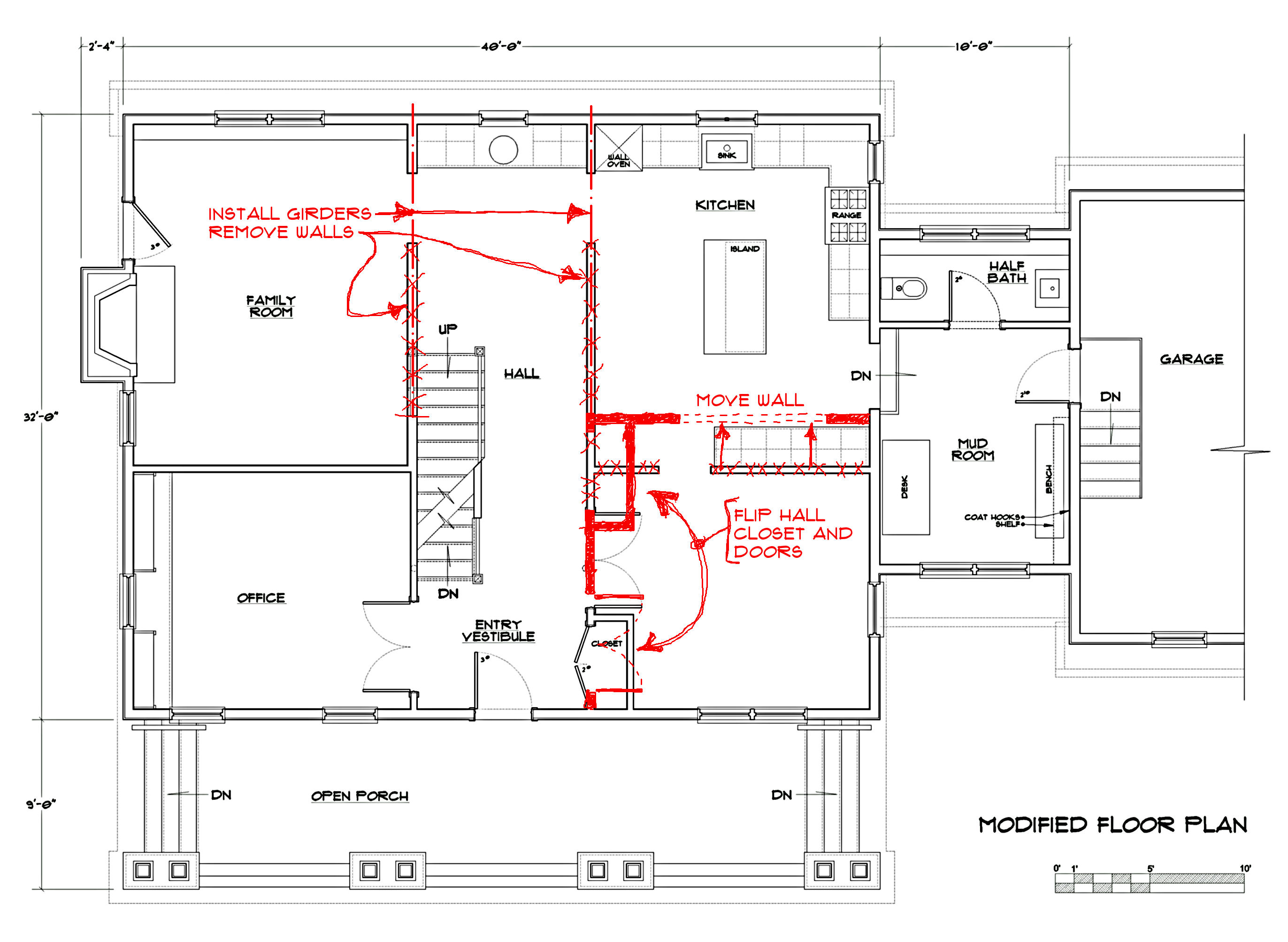 How to customize a spec home floor plan part 1 brad for What is a spec home